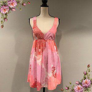 Cute jellyfish print summer dress